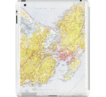 Massachusetts  USGS Historical Topo Map MA Gloucester 350160 1973 24000 iPad Case/Skin