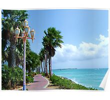 Orangestadt, Aruba Poster