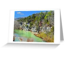 Buffalo River at Hasty, Arkansas Greeting Card
