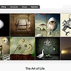 Go to Work on an Egg - 6 September 2010 by The RedBubble Homepage