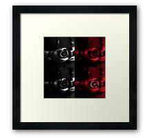 Warholian Canon Portrait  Framed Print