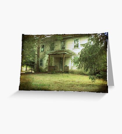 Mazer's House (vacant) Greeting Card