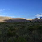 Morning Light upon the Great Sand Dunes, CO 2010 by J.D. Grubb