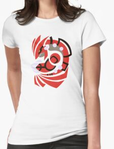 Scorching Earth - Groudon  Womens Fitted T-Shirt