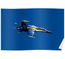 Blue Angels in the sky Poster
