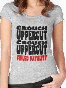 Noob Kombat Women's Fitted Scoop T-Shirt