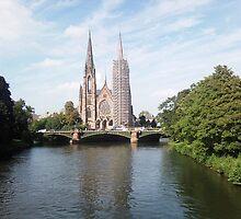Strasbourg France by DavidROMAN