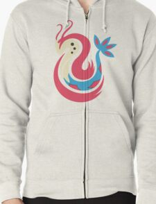 The Beauty - Milotic Zipped Hoodie