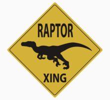 Raptor Xing Kids Tee