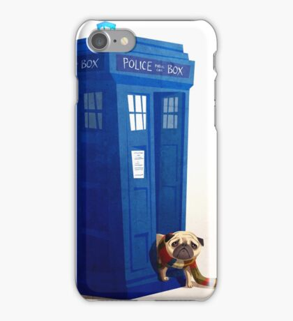 Tardis Pug iPhone Case/Skin