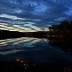 Lake Corunna, sunset. by Angela Millear