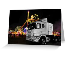 Truck n rides Greeting Card