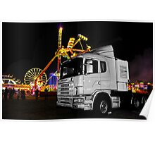 Truck n rides Poster