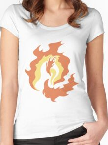 Moltres - Titan of Fire Women's Fitted Scoop T-Shirt