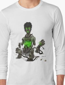 Amputee Zombie Long Sleeve T-Shirt