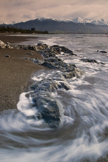 Kaikoura swirl by Paul Mercer