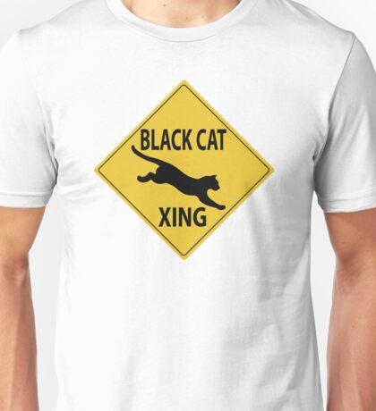 Black Cat Xing Unisex T-Shirt