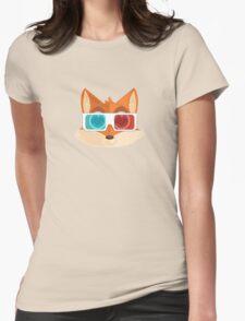 Fox - 3D Womens Fitted T-Shirt