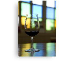 Wine tasting in Mendoza Canvas Print