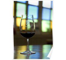 Wine tasting in Mendoza Poster