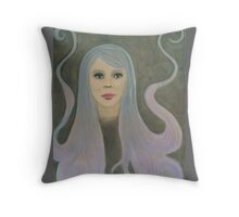 Emerge from Gloom to Bloom Throw Pillow