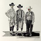 Bullfighters...The Rodeo Clowns by J.D. Bowman