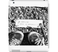 Oh Darling Lets Be Adventurers iPad Case/Skin