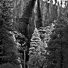 Yosemite Falls - IR by James Kyle