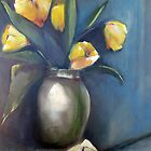 Pot of Tulips by Jeff Hunter