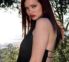 """Megan Marlow - Character celebrity persona Megan Fox, 2009, Montecito, California"" by Alexis  Lezin"