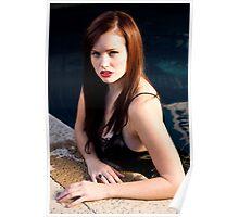 """Megan Marlow - Character celebrity persona Megan Fox, 2009, Montecito, California 2"" Poster"