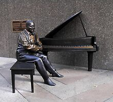 ladies and gentlemen... oscar peterson by Bruce Miller
