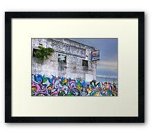 Miami Plant Framed Print