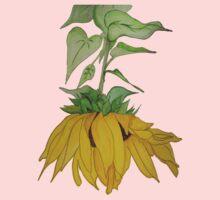 Lori's Sunflower One Piece - Short Sleeve