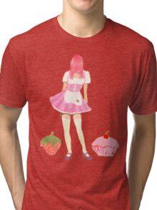 Cake girl Tri-blend T-Shirt