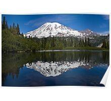 Bench Lake, Mt. Rainier National Park (US) Poster