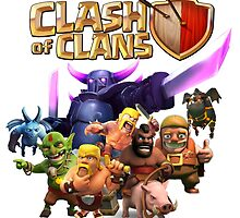 clash of clans by kupubaja