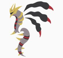 Mirror's Shadow - Giratina Origin Form by kinokashi