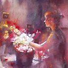 Fleuriste du minuit by vasenoir