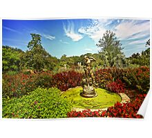 Brookgreen Gardens - Fall On The Way Poster