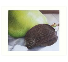 Luscious Pear Art Print