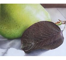 Luscious Pear Photographic Print