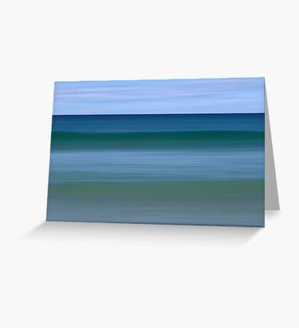 Aquamarine 2 Greeting Card