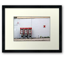 Three Way Calling Framed Print