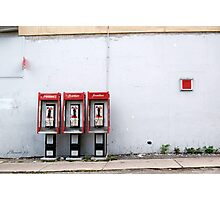 Three Way Calling Photographic Print