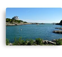 Goose Neck Cove - Newport - Rhode Island Canvas Print