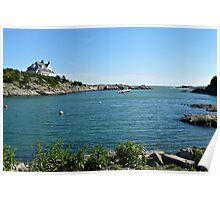 Goose Neck Cove - Newport - Rhode Island Poster