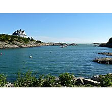 Goose Neck Cove - Newport - Rhode Island Photographic Print