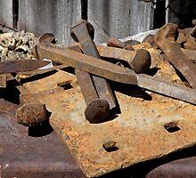Rail Yard Rust by Patty Boyte