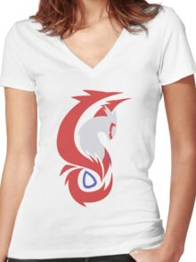 Guardians of Altomare - Latias Women's Fitted V-Neck T-Shirt
